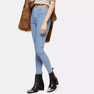 NWT-Topshop Joni Super High Waisted Skinny